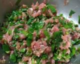 第一次手作蔥肉包食譜步驟2照片